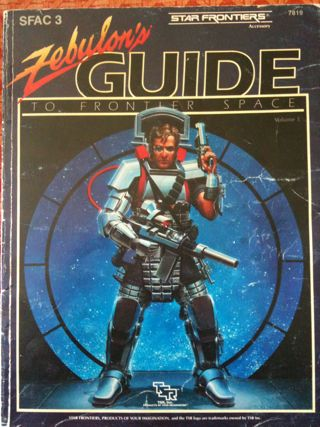 My tattered copy of Zebulon's Guide