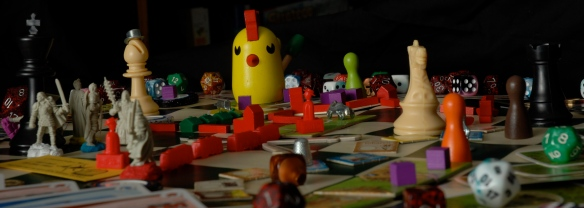 FrieCon I - A gathering of game-playing friends. Hosted by Jeremy & Jenny