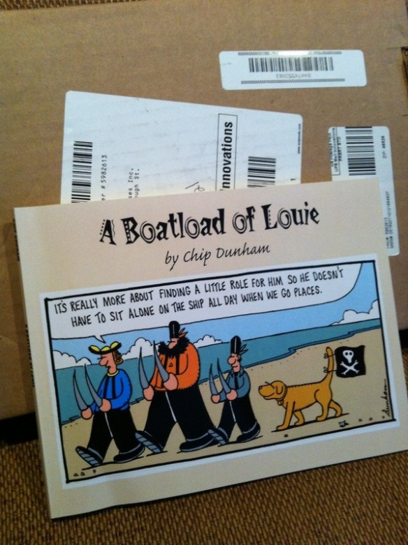 "…and I Got ""A Boatload of Louie"""