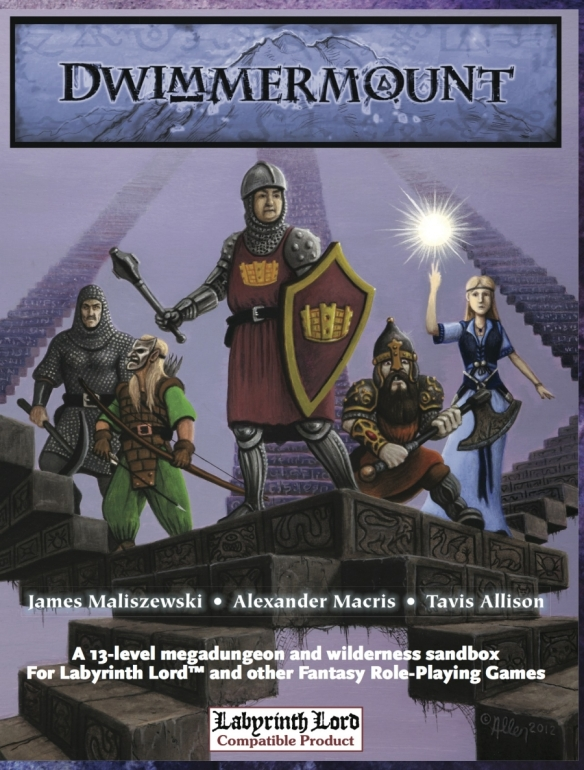 Dwimmermount Cover Image by Mark Allen.