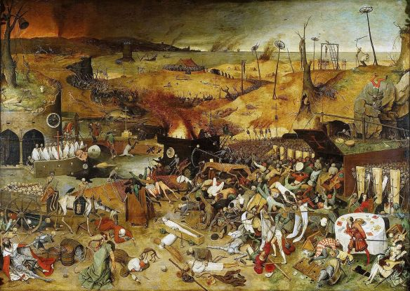 """The Triumph of Death"" - Pieter Bruegel the Elder, Year c. 1562"
